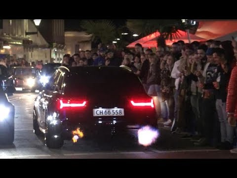 Straight-Piped Audi S6 Avant SHOOTING FLAMES - Wörthersee 2019