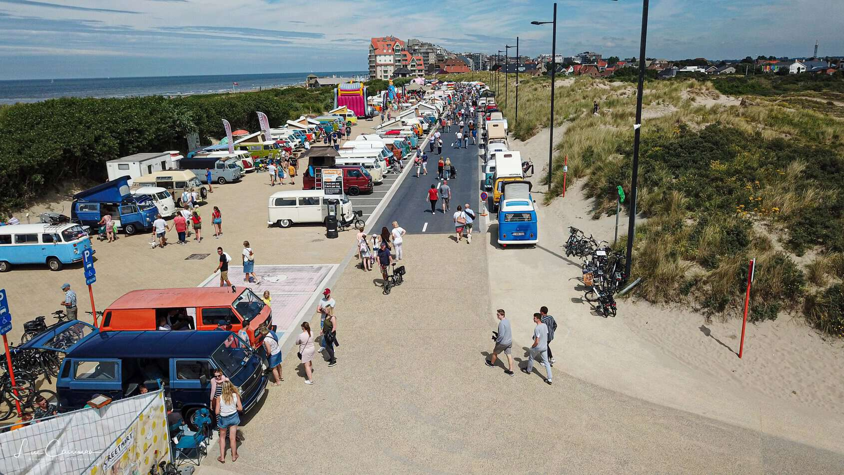 VW Bus Meeting Westende 2019 - Bilder